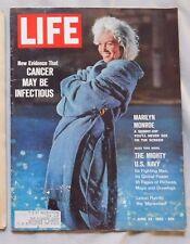 Marilyn Monroe Life Magazine June 22 1962