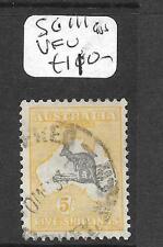 AUSTRALIA (P2811B) ROO 5/-  SG111  VFU