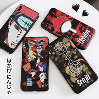Hot Sale Cool Cartoon Naruto TPU Phone Case For iPhone Xs Max XR SE2nd 7 8 Plus