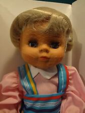 "Vintage Herbert Stolle 15"" Doll cloth and vinyl head"