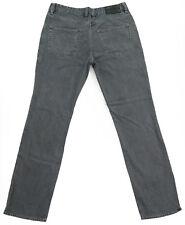Men's RIVER ISLAND Straight Leg Grey Denim Jeans  W32 L32