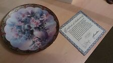 LENA LIU Decorative plate Flower Fairies Collection No.4 'Mischief Masters'