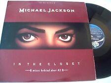 """Michael Jackson - In the Closet 4 Mixes Behind Door 12"""" (from Dangerous LP) VG+"""