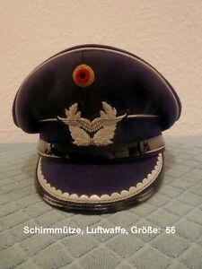 Bundeswehr Schirmmütze_Luftwaffe_Offizier, Größe 56