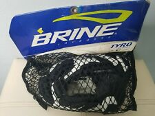 Black And White Brine Tyro Youth Lacrosse Gloves 10�