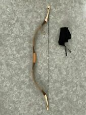 30lbs TRADITIONAL  Madyar ARCHERY RECURVE LAMINATED BOW Wood patch of horn