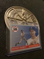 Mickey Mantle 2008 Topps Card MHRC500 New York Yankees Babe Ruth Collector NR