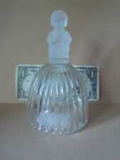 """Vintage 1978 Annual Goebel Crystal Bell-1st Edition 6 1/2"""" Girl Praying Bell"""