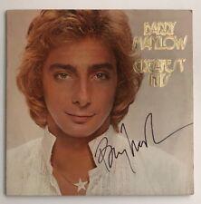 Barry Manilow Signed Greatest Hits LP Vinyl JSA # R18323 Autograph