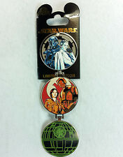 Disney Pin STAR WARS ROGUE ONE DEATH STAR HINGED Limited Edition