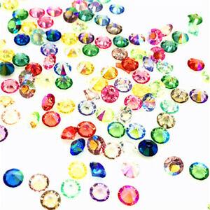 400Pcs Ab Mix Crystal Birthstones Floating Charm For Glass Living Memory Locket