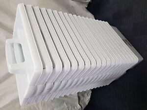 Job Lot 19x Wham Kitchen Tool Tidy CREAM plastic handy cleaning box utility cadd