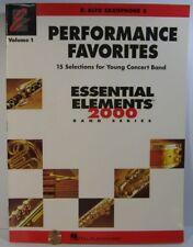 Hal Leonard Perf Favorites Essential Elements 2000 Series Eb Alto Saxophone 2