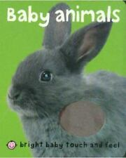 Baby Animals, Bright Baby Touch & Feel, Board Book, Roger Priddy,(2006,st mar)