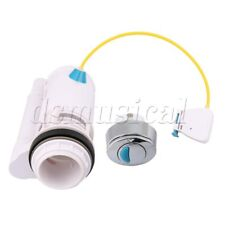 Water-Saving Push Button Dual Flush Draw Off Valve Fit 6-7.5Cm Drainage