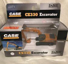 CASE CX330 EXCAVATOR NORSCOT 1:87 SCALE DIE CAST NIB 2005