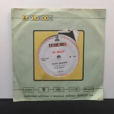 The Beatles – Eleanor Rigby / Yellow Submarine on Odeon 7-BT-04 Brazilian 1st Pr