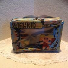 Vintage Original 1960's Vinyl Ideal Wishnik Carry Case & Troll