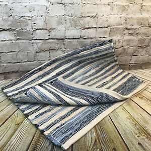 Levi's x Target Limited Edition 2' x 3' Denim Scrap Scatter Throw Accent Rug