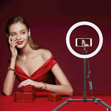 Zomei LED 10'' Ring Light Dimmable Fill Lighting for Makeup Photography YouTube