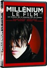 Millenium - Le Film (DVD French) Noomi Rapace, Michael Nyqvist NEW