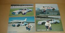 1985 1986 Chevy Monte Carlo SS Terry Labonte Racing postcard Piedmont airlines