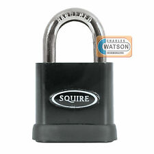 Squire SS65S Stronghold High Security Padlock Anti-Drill Open Shackle Lock CEN 5
