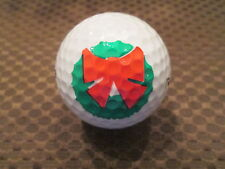 Logo Golf Ball-Christmas Wreath.
