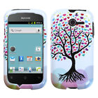 For Huawei Ascend Y H866C HARD Case Protector Snap On Phone Cover Love Tree