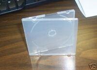 200 MINI CD/DVD POLY CASES - Clear - SF16