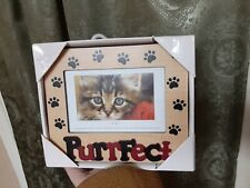 Cat Collectible Purrfect Designer Picture Frame Vintage Oop 4x6 Never Used Cute