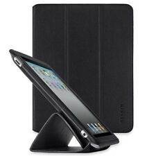 Belkin iPad 4 3 2 Leather Trifold Folio Stand Case Cover Black F8N650cwC00