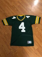 Vintage Brett Favre Green Bay Packers Champion Jersey Size 40 Medium M NFL VTG
