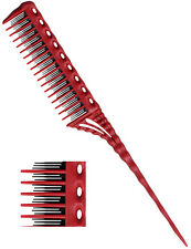 YS Park 150 Teasing Comb in RED From Japan 100% Genuine