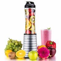 Portable Sports Silver 300W Blender w/ 18 oz BPA Free For Smoothies Fruit Shakes