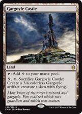GARGOYLE CASTLE NM mtg Commander Anthology Land - Rare