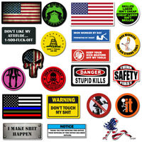 Hard Hat Stickers, Premium Thick Funny Vinyl Decals for Hardhat, Helmet, Toolbox