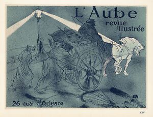 Toulouse-Lautrec lithograph poster (printed by Mourlot) 576879