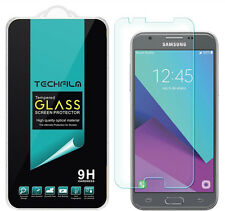 TechFilm Tempered Glass Screen Protector Saver For Samsung Galaxy J3 Luna Pro