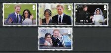 BAT Brit Antarctic Ter 2018 MNH Prince Harry Meghan Royal Wedding 4v Set Stamps