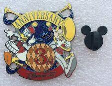Pins DISNEY 3rd ANNIVERSARY Disneyland HONG KONG Official pin trading 2008