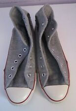 VTG Unisex Chuck Taylor CONVERSE Grey Marl Fabric Canvas Hi Tops/Trainers Size 6