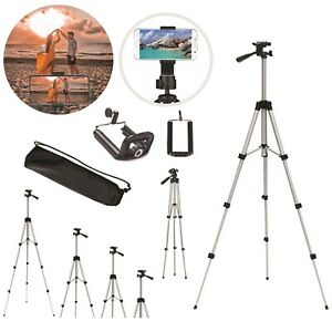 Professional Camera Tripod Stand Holder + Bag For Smart Phone Photography Stand