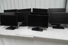 "Lot-10 Dell P2010H 20"" Lcd Monitor 4-Port Usb Hub Vga Dvi Dp P2010ht J846R"