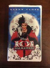 101 Dalmatians (VHS, 1997, Clam Shell)  Glenn Close VHSshop.com