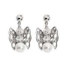 ORECCHINI BOCCADAMO MYA con angelo mini pendente e cristallo SWAROVSKI KU/OR10