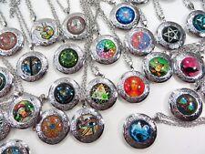 $1.75/p, 50 pieces wholesale locket pendant necklaces bulk lot jewelry