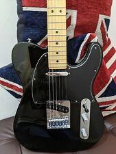 More details for fender player telecaster - black - maple neck electric guitar 2020 - mexico mim