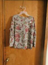 Time and Tru Long Sleeve Maternity Blouse---Size S ( 4-6 )