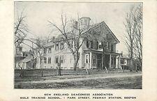 New England Deaconess Assoc, Bible Training School, Fenway Station, Boston MA